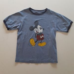 Disneyland-Disney World Kids size M Mickey Tshirt